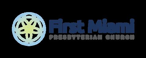 Logo for First Miami Presbyterian Church, 609 Brickell Ave
