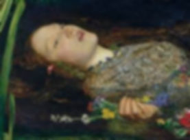 Image of Ophelia from Shakespeare's Hamlet