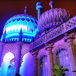 Image of a Purple Palace