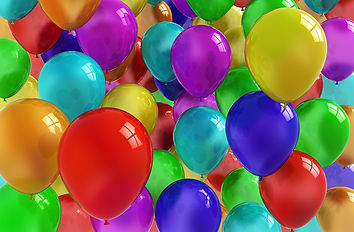 Picture of colorful balloons