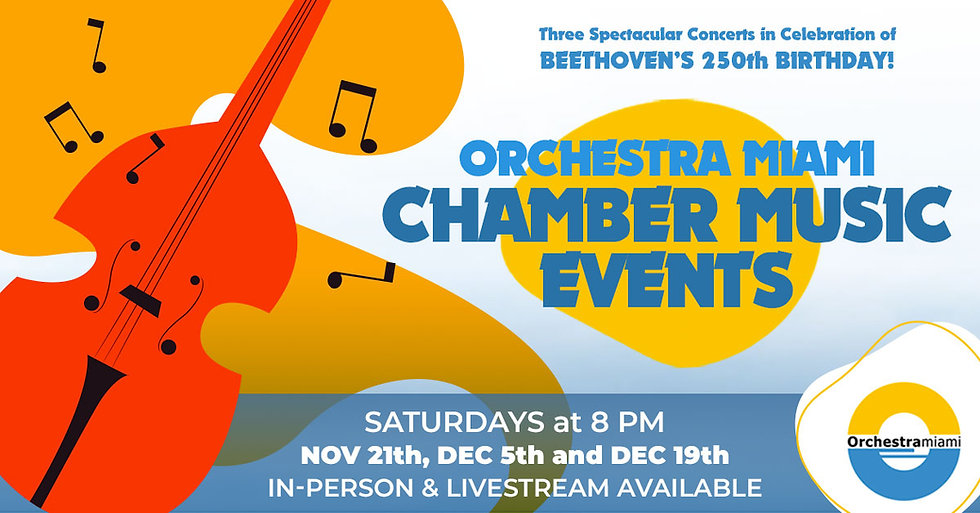 Orchestra Miami Chamber Music Events
