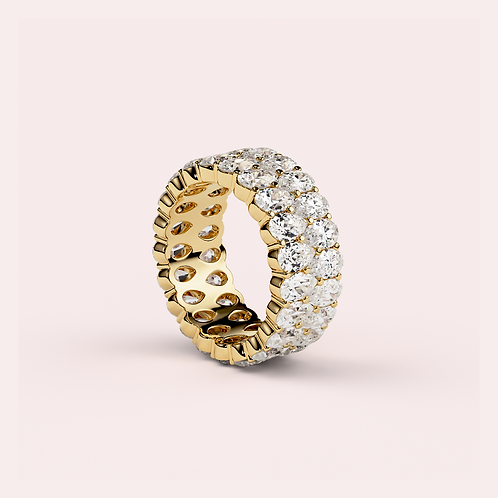 .25ct Pear Eternity Band