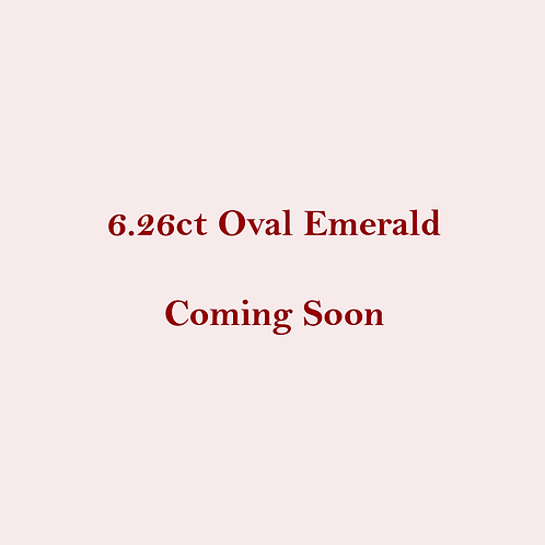 6.26 Untreated Natural Emerald