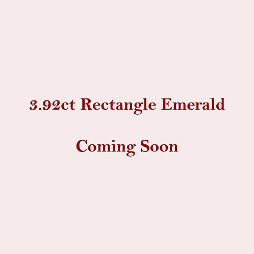 3.92ct Natural Emerald