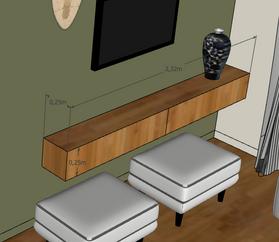 Dessin meuble en 3D