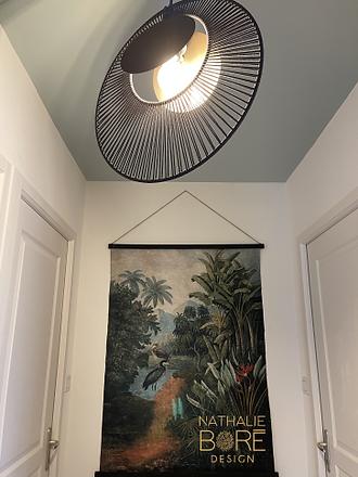 Une couleur au plafond
