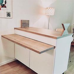 Design d'un meuble sur mesure