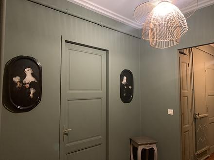 Peinture et décoration entrée
