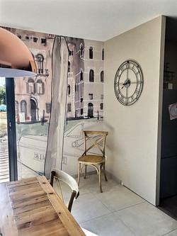 Après travaux peinture, pose panoramique