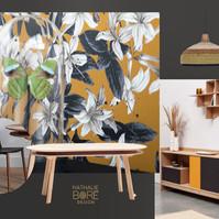 Une planche d'ambiance et mobilier