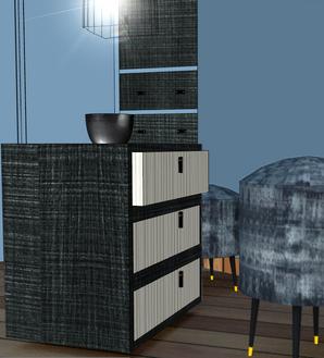 Création meuble en 3 D