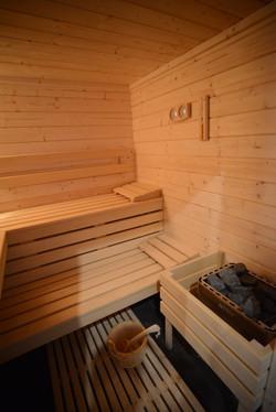 sauna dans espace SPA