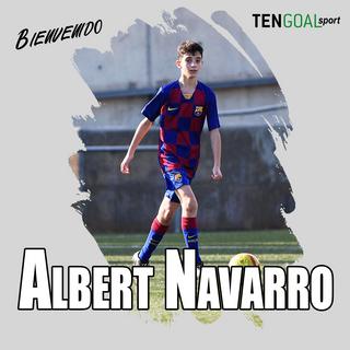 "Central Izquierdo  FC Barcelona  Infantil ""B"" Liga Preferente  Nacionalidad: España"