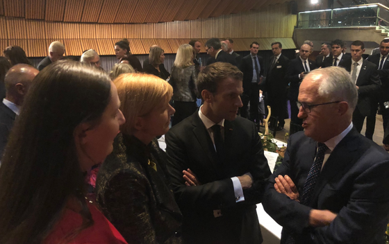 AFRAN met with President Macron and Minister Vidal early May in Sydney