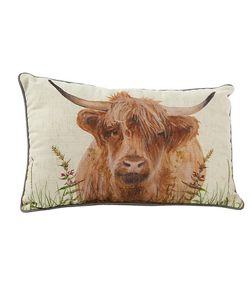 Highland Coo Cushion