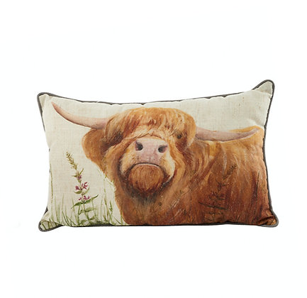 Highland Coo Cushion