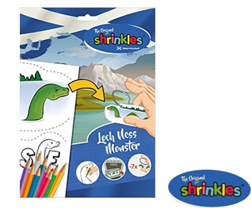 Loch Ness Shrinkles