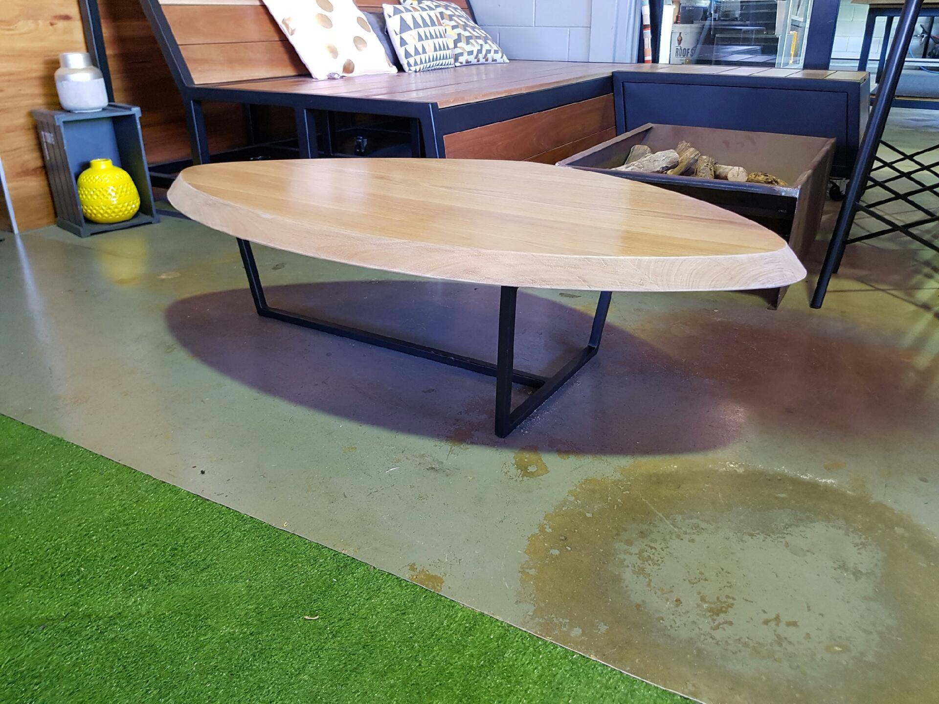 Black Butt Coffee Table