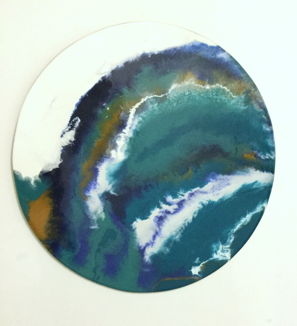 Ocean Deep Resin Art