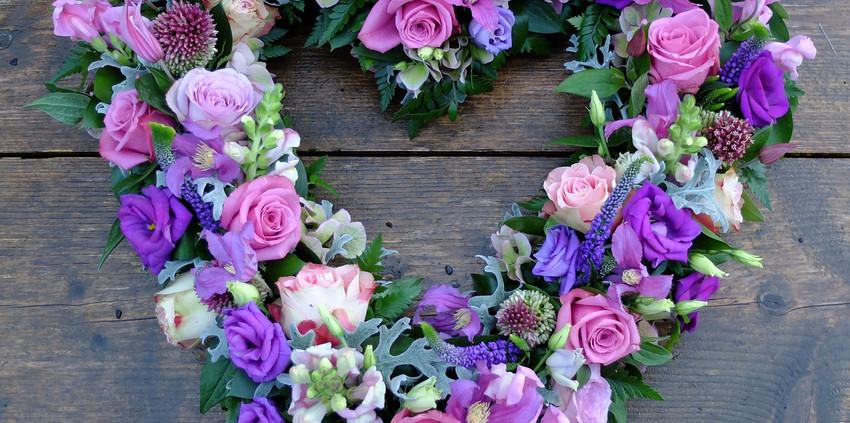 Open Heart - Purples
