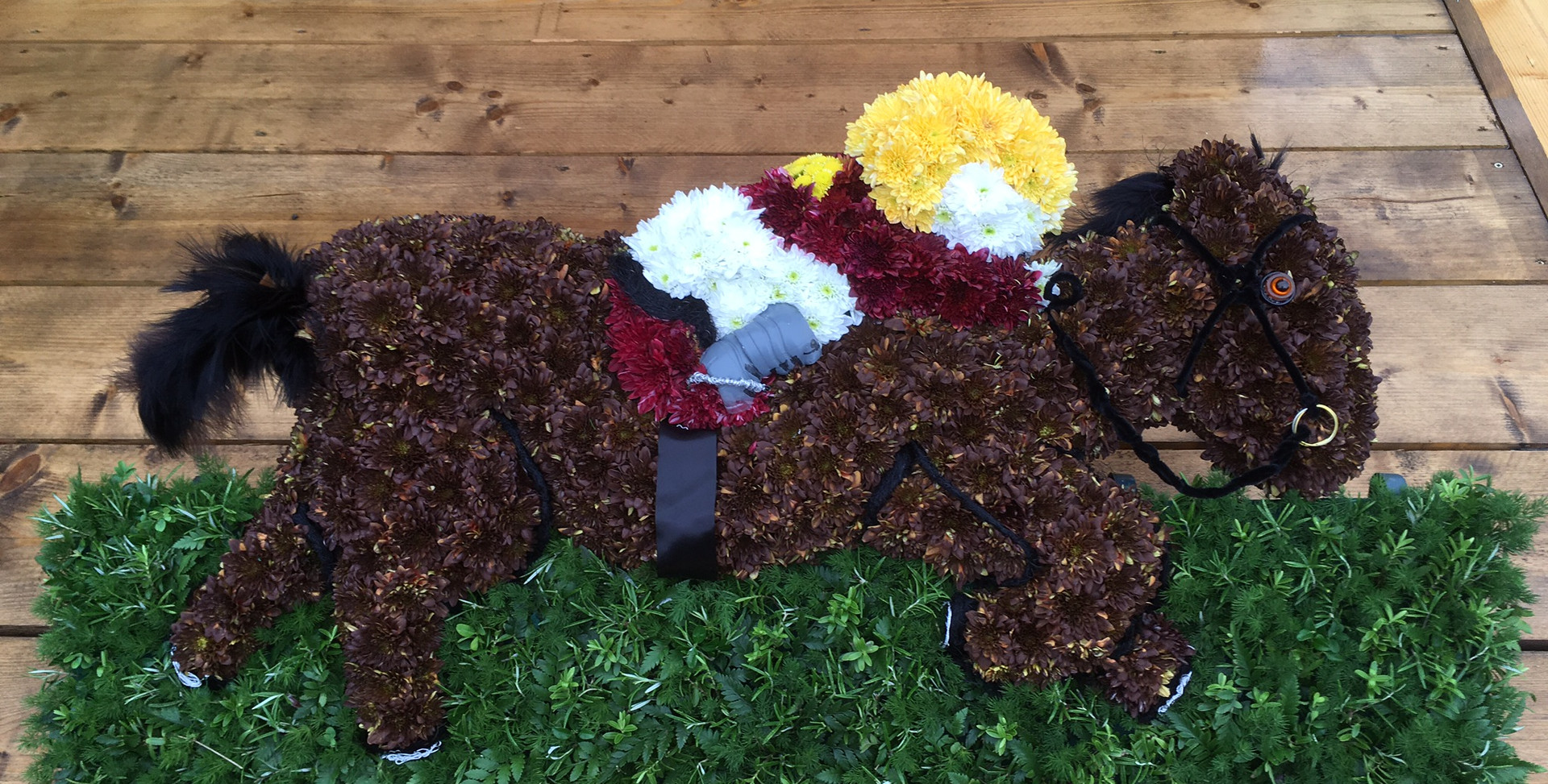 Bespoke Floral Tribute - Horse Racing