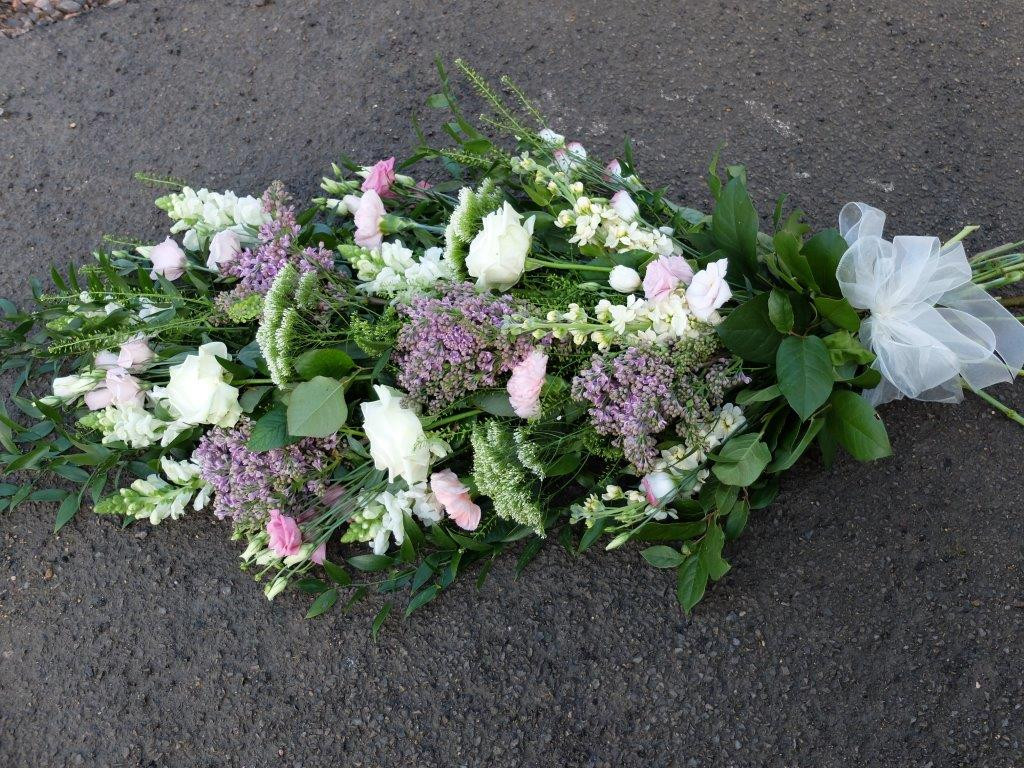 Tied Sheaf - Whites and Lilacs