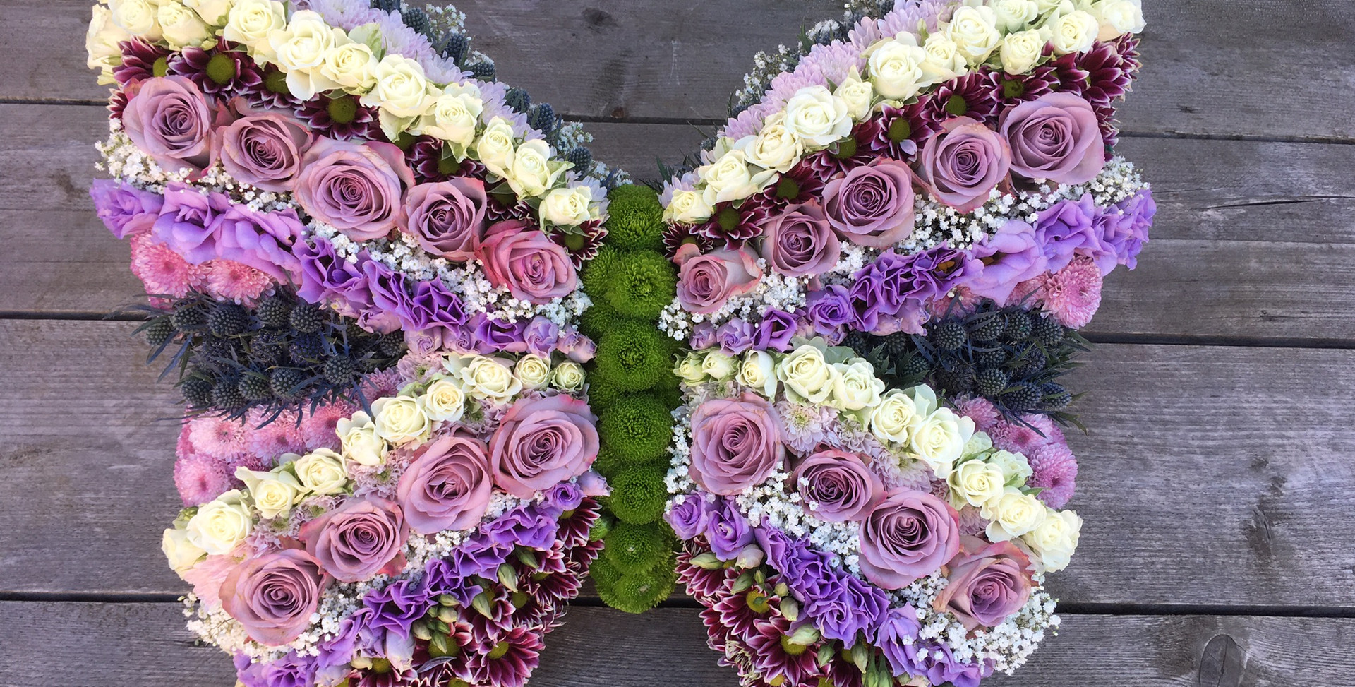 Bespoke Floral Tribute - Butterfly