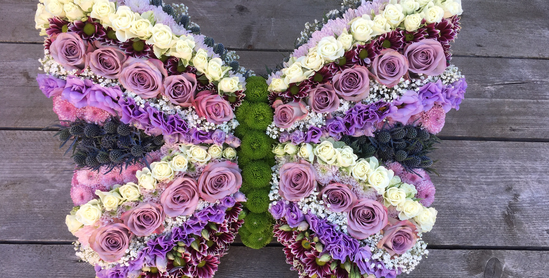 Bespoke Floral Tribute - Butterfly