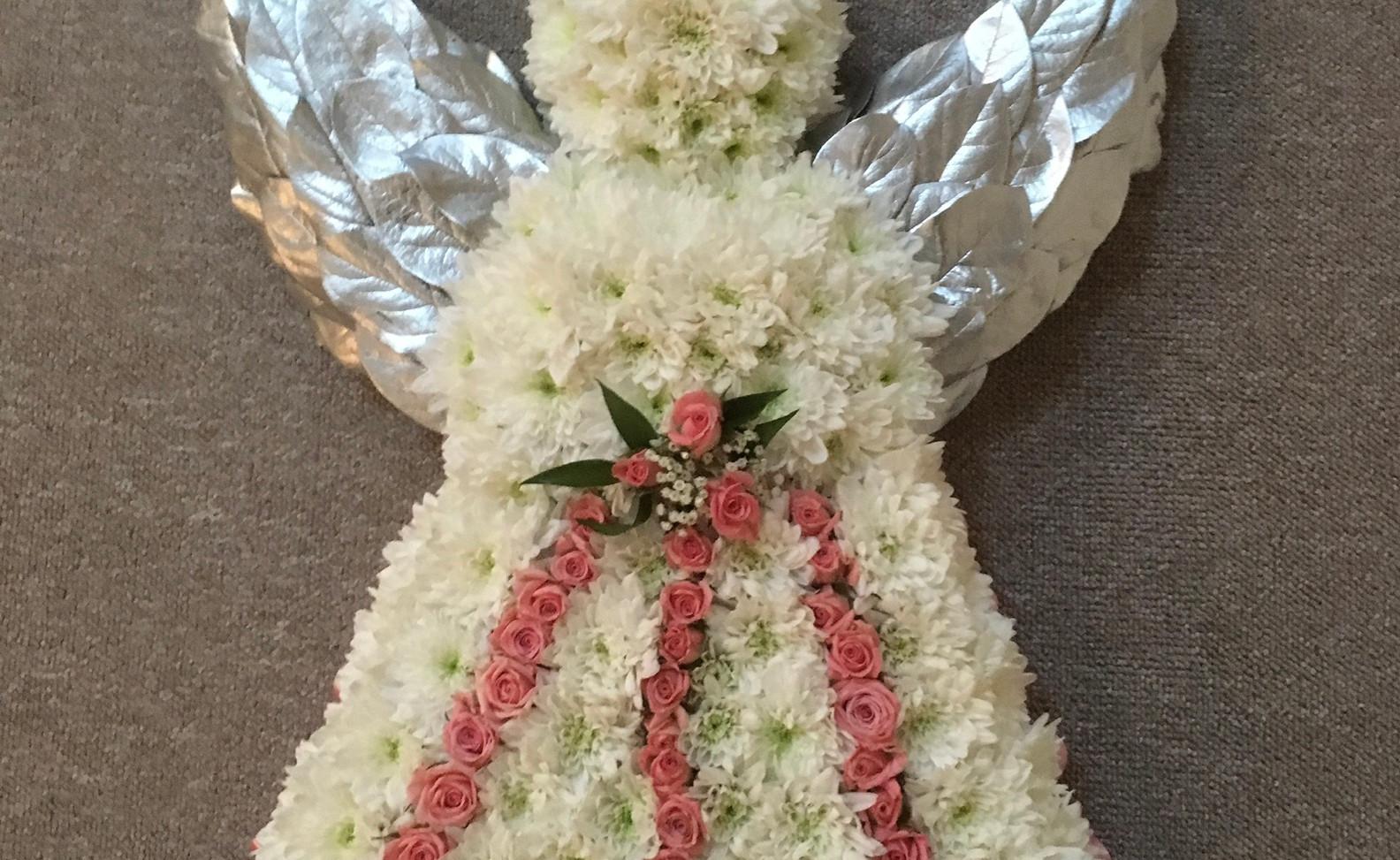 Bespoke Floral Tribute - Angel