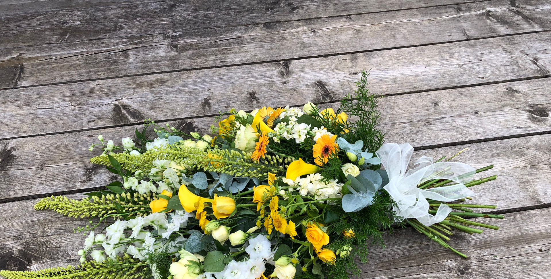 Tied Sheaf - Yellows and Whites