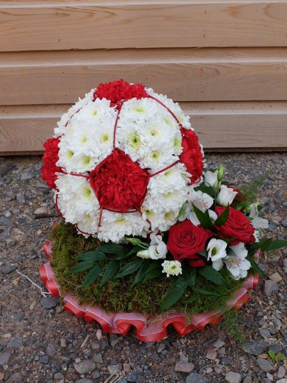Bespoke Floral Tribute - Football