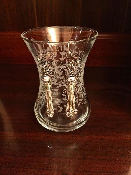 Oriental SS Earrings with Tassel