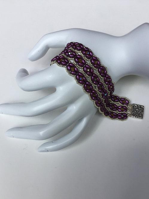 Royalty Bracelet (Purple Super Duo)