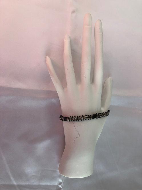 Black Tila Bracelet