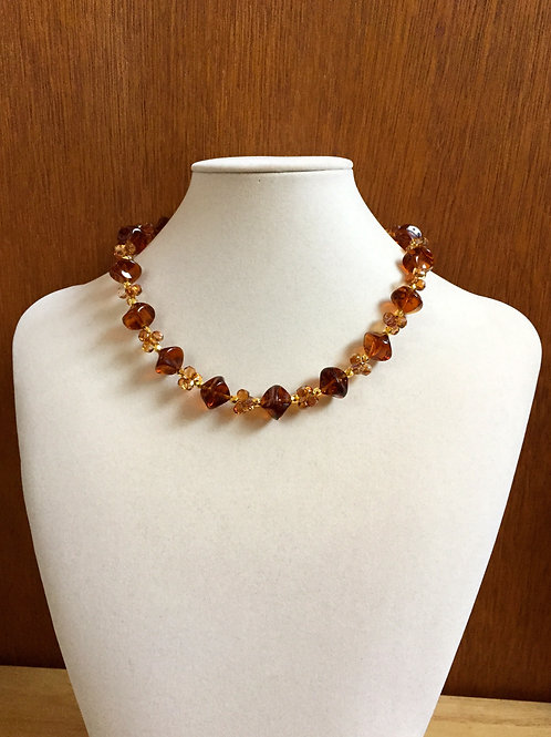Forever Amber Necklace
