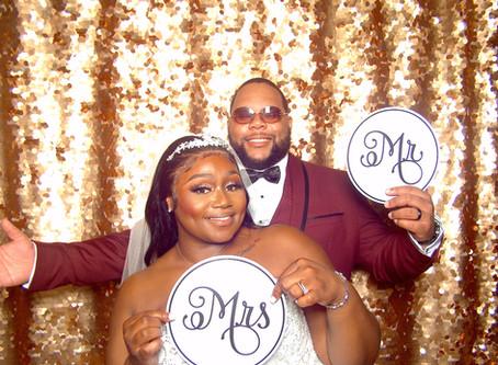 Micah + Preston Intimate Wedding
