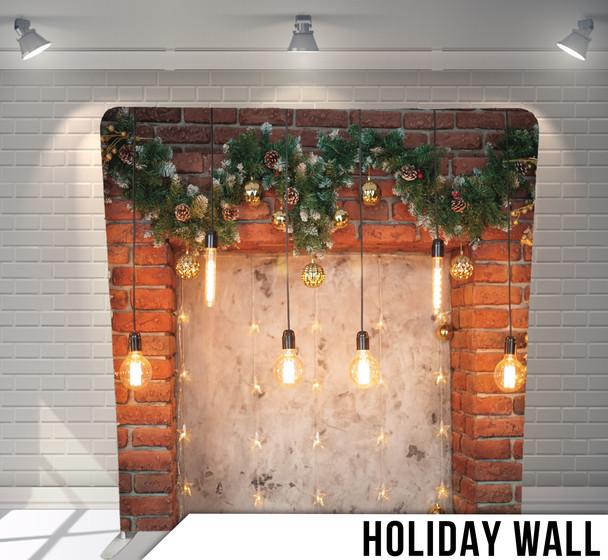 HOLIDAY WALL BACKDROP