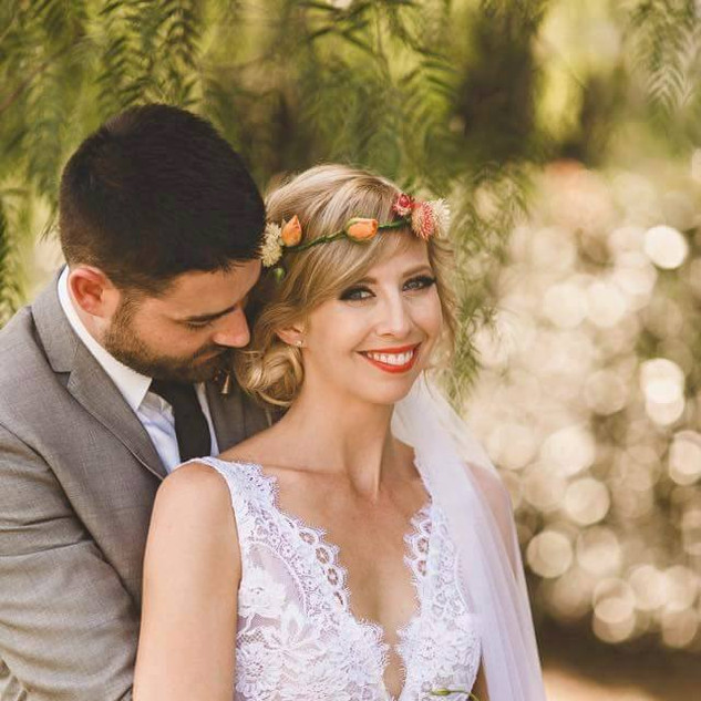 wedding makeup and hair stylist
