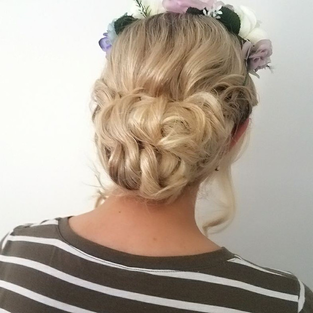 makeup and hair bronte