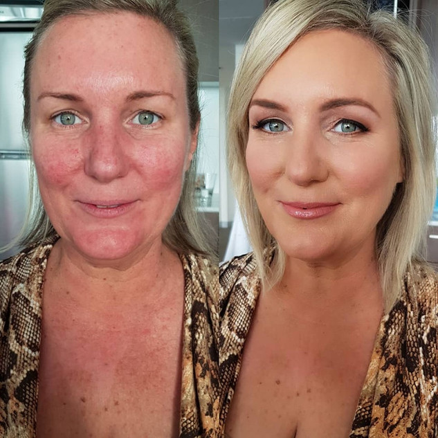 makeup and hair northern beaches
