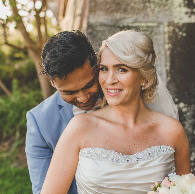 wedding makeup and hair clovelly