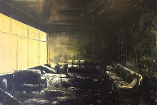 Jarik Jongma-'Waiting room' (1), 120 x 180 cm. John Moores Prize, 2011