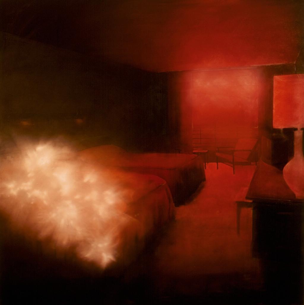 Jarik Jongman-Phenomena (4), 2009, 200 x 200 cm. Oil on canvas