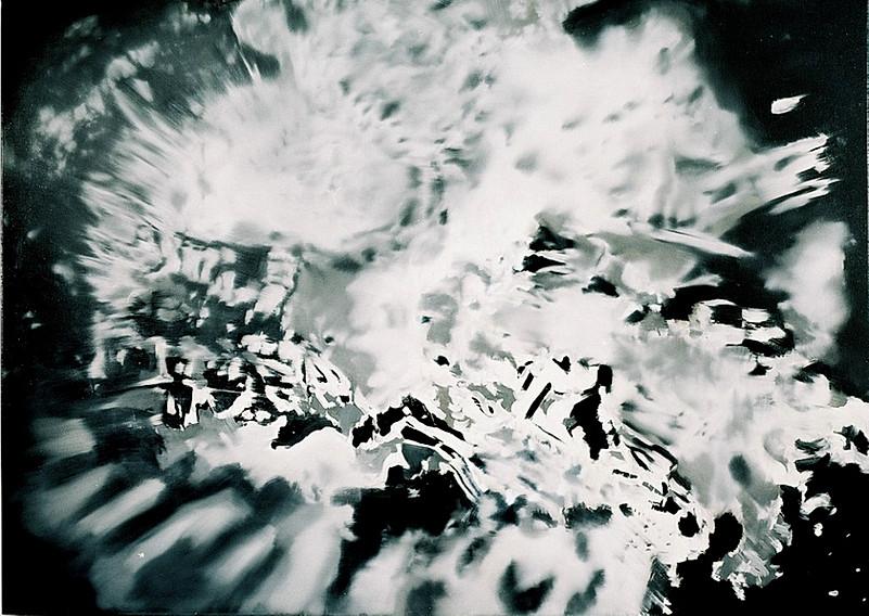 Jarik Jongman-Explosion (2), 2006, 100 x 140 cm. Oil on canvas