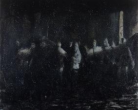 Jarik Jongman-'In dust and ashes I repent' (2) 160 x 200 cm 2009