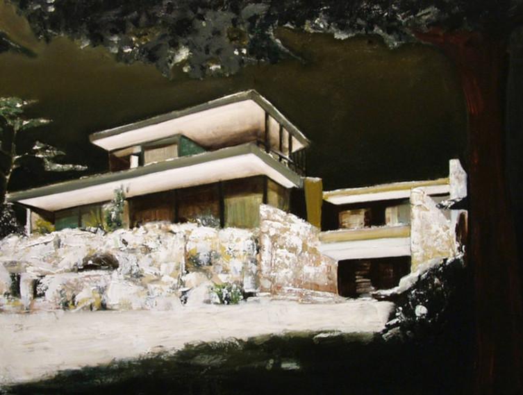 Jarik Jongman-House (3), 2015, 60 x 80 cm.  Oil on canvas