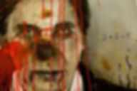 Jarik Jongman About Face - Charles Saatchi, 80 x 80 cm, painting and performance, Momentum Berlin,2012