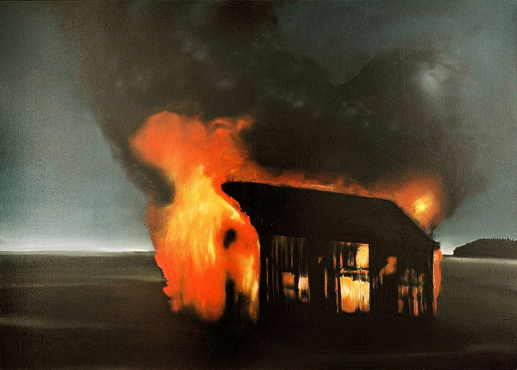Jarik Jongman-Athanor, 2006, 100 x 140 cm. Oil on canvas
