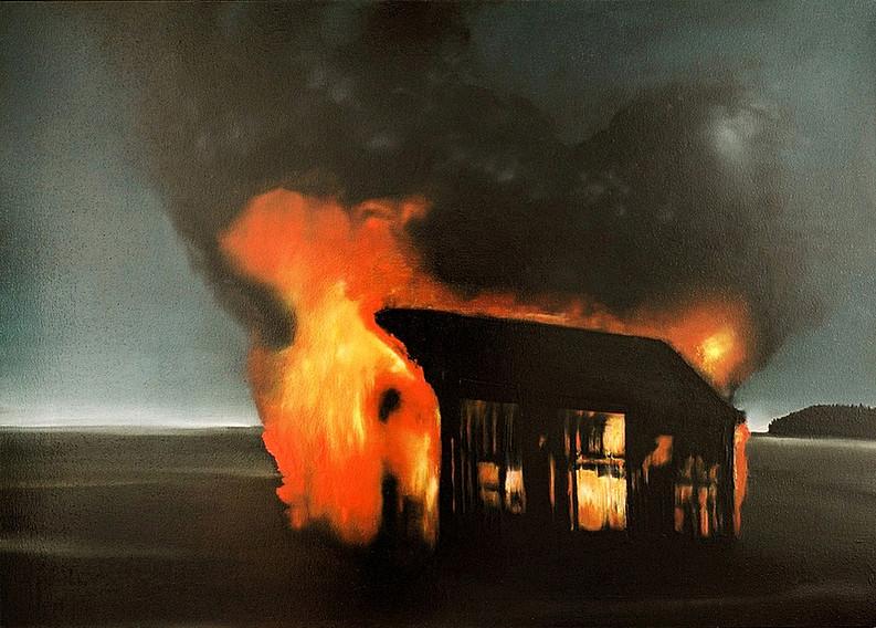 Jarik Jongman-Athanor, 2006, 100 x 140 cm. Oil on canvas