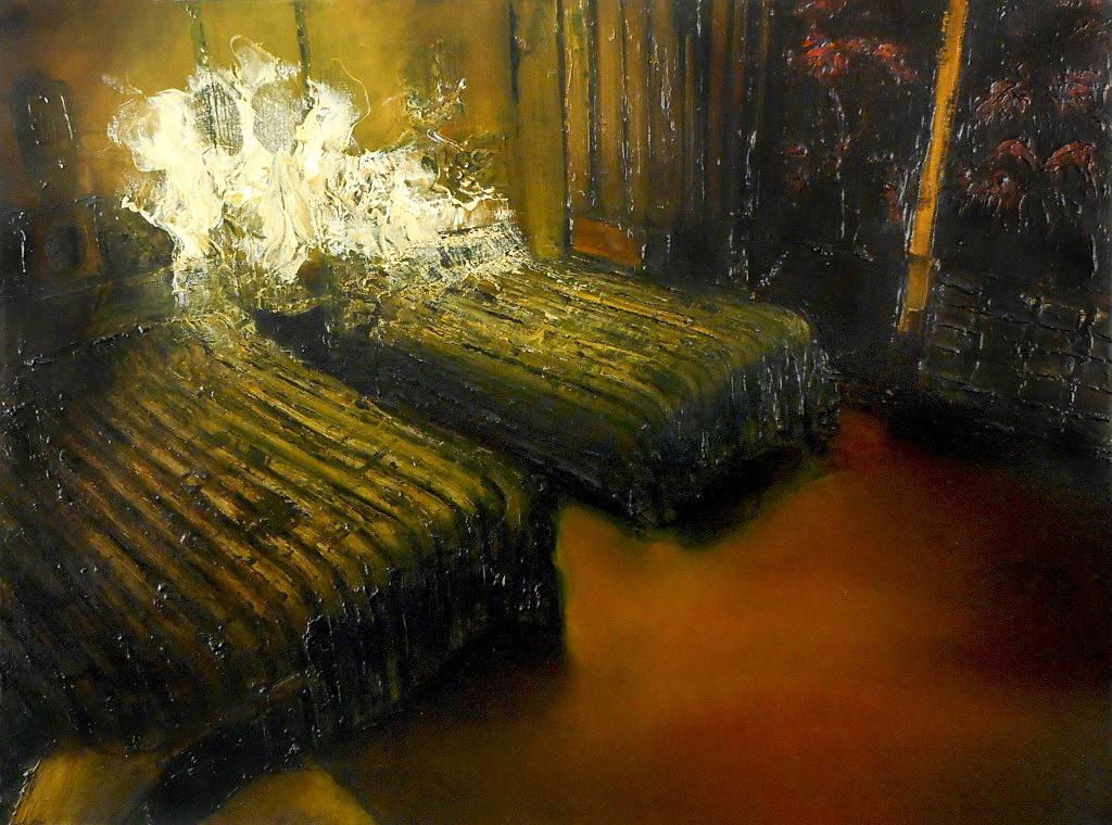 Phenomena (31), 2019, 60 x 80 cm. Oil on canvas